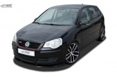 Lip spoiler,Bumper, Extension, Splitter,Front Spoiler VW Polo 9N3 2005+ incl. GT
