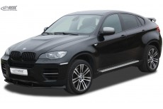 Lip spoiler,Extension, Splitter,Front Spoiler BMW X6 E71 (incl. M50)