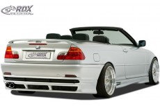 Rear Bumper extension, Lip spoiler,Extension, Splitter,BMW 3-series E46 coupe/convertible-2003