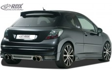 Rear Bumper extension, Lip spoiler,Extension, Splitter,Rear Bumper Extension PEUGEOT 207 / 207CC