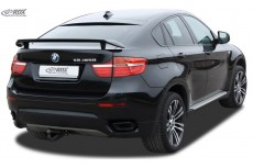 Rear Spoiler, Rear Lip Spoiler,Splitter,Rear Extension Rear Spoiler BMW X6 E71