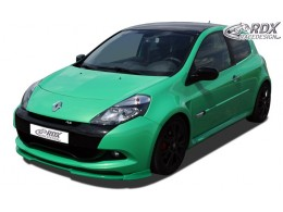 Front Spoiler, Extension, Lip Spoiler, Splitter RENAULT Clio 3 RS Phase 2